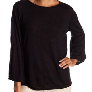 NWT Sanctuary Bell Sleeves Knit Blouse - S